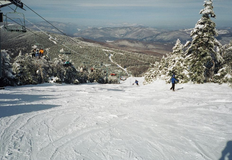Killington North ridge